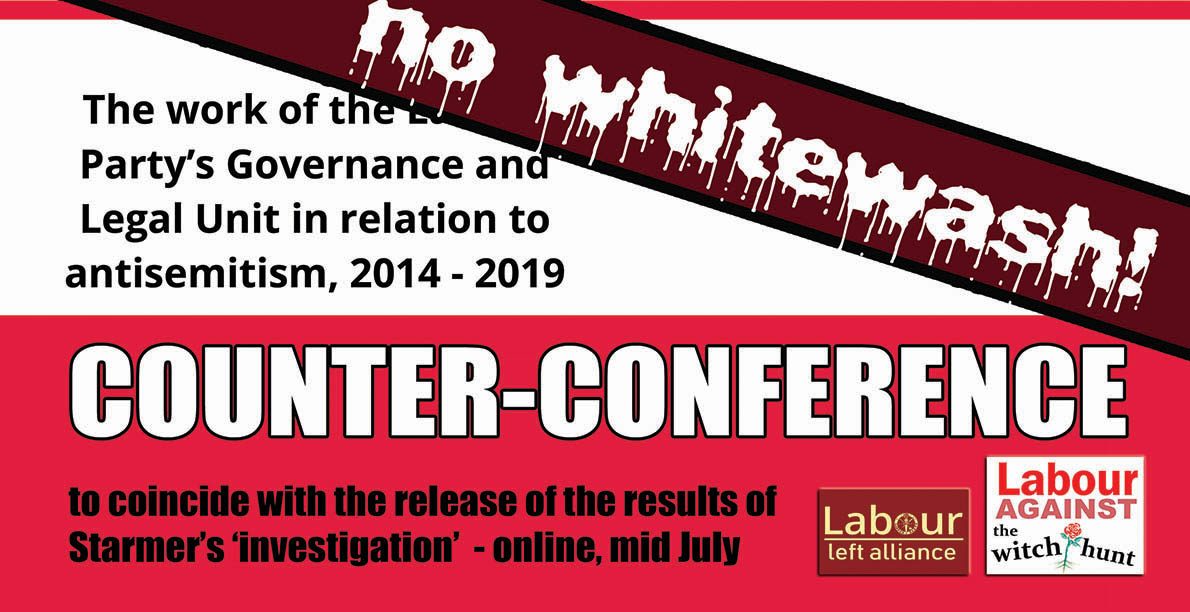 No whitewash! Counter-conference on the 'leaked report'