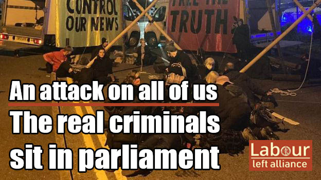 Extinction Rebellion: The real criminals sit in parliament!