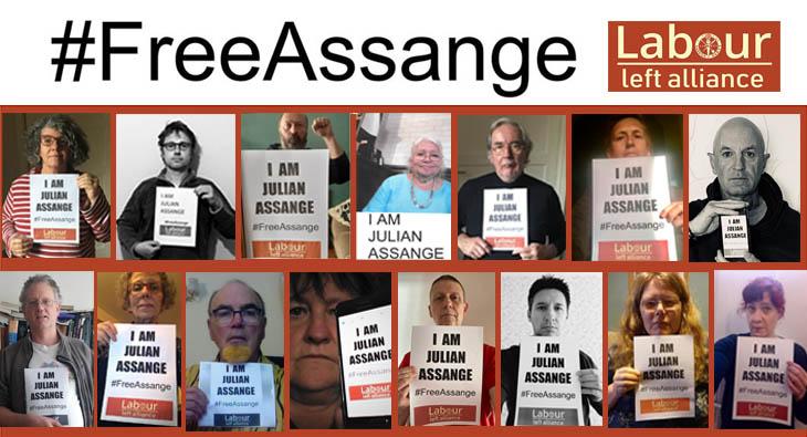 Free Julian Assange! Show your solidarity