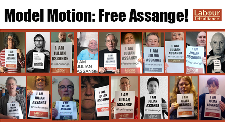 Model Motion: Defend Julian Assange from extradition