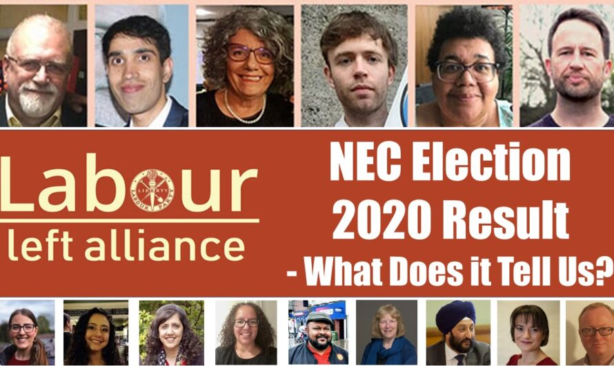 NEC Election 2020 Result – What Does it Tell Us?
