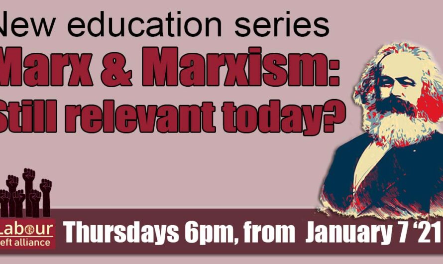 New education series: Marx and Marxism