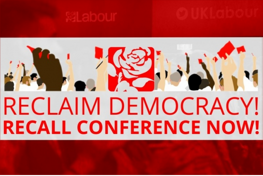 We need a National Labour Recall Conference now!  Either organised by the Labour Party – or the Labour movement!