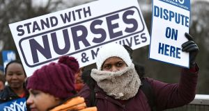 Support strike action in response to the measly 1% pay offer for nurses and medical staff