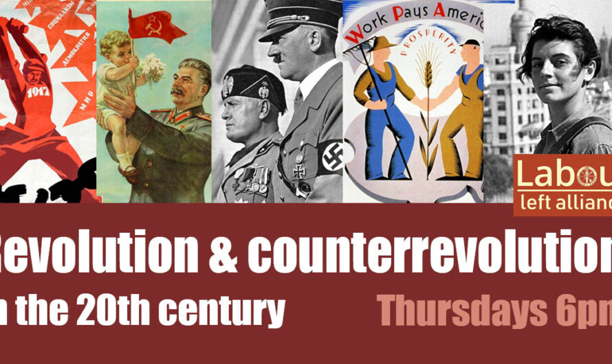 New series: Revolution and Counter-Revolution in the 20th century