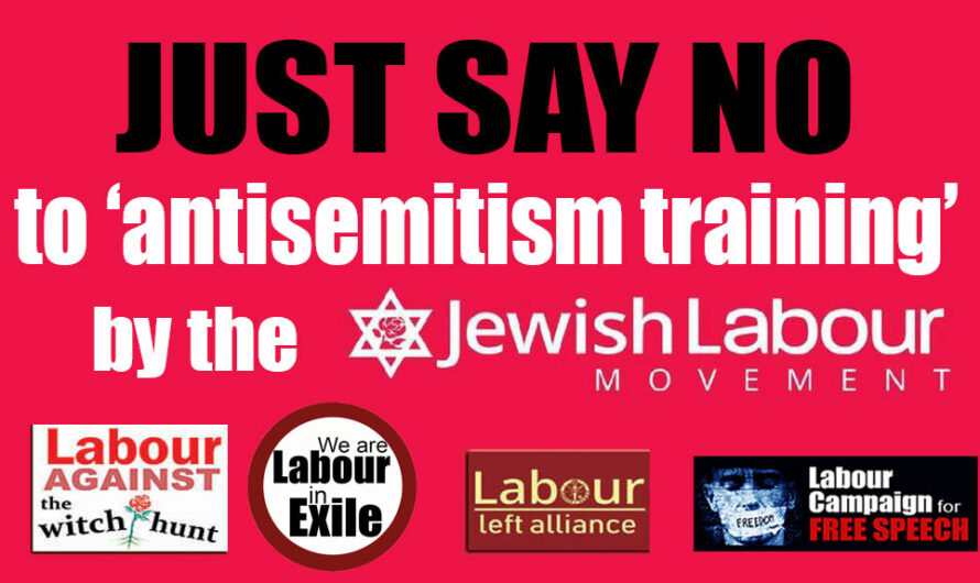 JUST SAY NO! to antisemitism training by the JLM